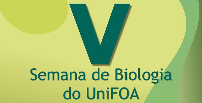 V  Semana de Biologia do UniFOA